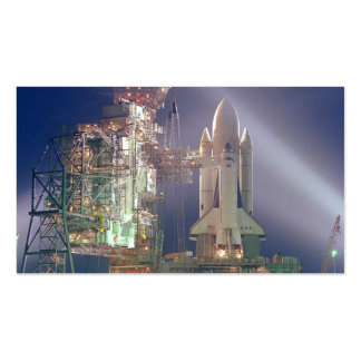Transbordador espacial Columbia Plantillas De Tarjeta De Negocio
