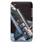 Transbordador espacial con la bahía de cargo abier iPod Case-Mate coberturas