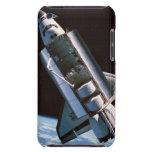 Transbordador espacial con la bahía de cargo abier barely there iPod protector