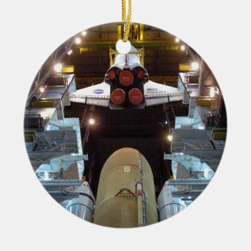 Transbordador espacial ornamento para arbol de navidad