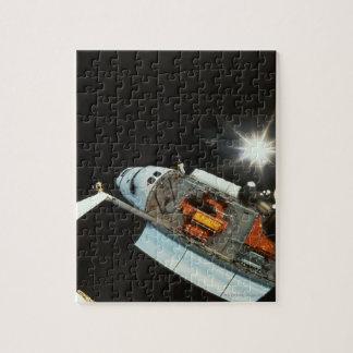 Transbordador espacial en espacio puzzles