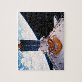 Transbordador espacial en la órbita 2 puzzles con fotos