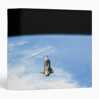 "Transbordador espacial en la órbita 3 carpeta 1 1/2"""