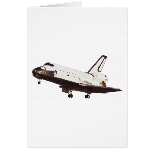 Transbordador espacial felicitaciones