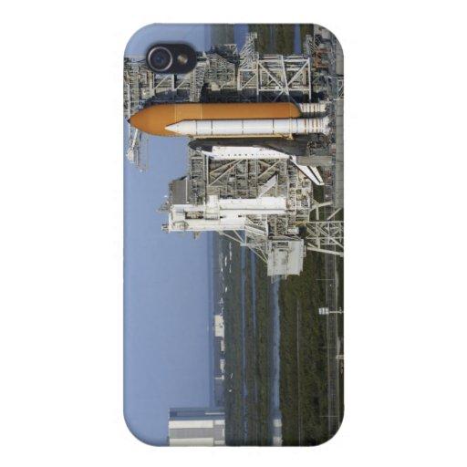 Transbordador espacial la Atlántida 3 iPhone 4 Carcasas
