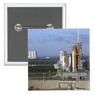 Transbordador espacial la Atlántida 3 Pin Cuadrado