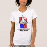 transbordador espacial la Atlántida Camisetas