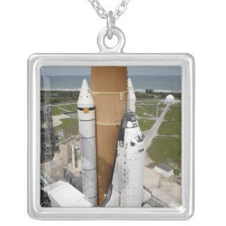 Transbordador espacial la Atlántida Colgante Cuadrado