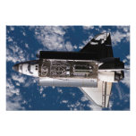 Transbordador espacial la Atlántida Impresiones Fotograficas