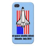 transbordador espacial la Atlántida iPhone 4 Coberturas