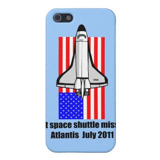 transbordador espacial la Atlántida iPhone 5 Coberturas