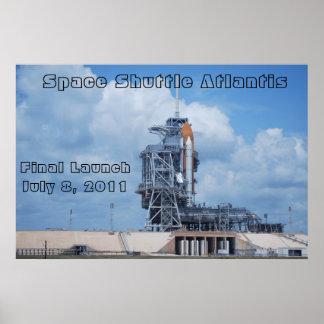 Transbordador espacial la Atlántida Poster