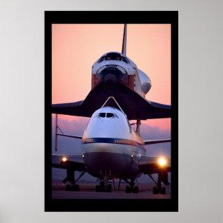Transbordador espacial la Atlántida Impresiones