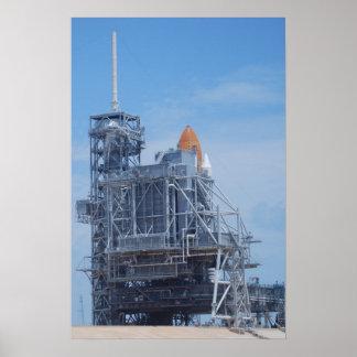 Transbordador espacial la Atlántida Posters