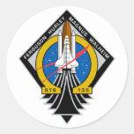 Transbordador espacial la Atlántida Pegatinas