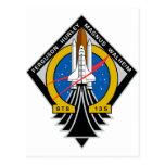 Transbordador espacial la Atlántida Postales