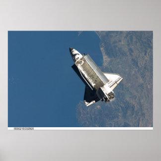 Transbordador espacial la Atlántida Póster