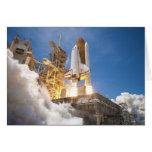 Transbordador espacial la Atlántida que pone en ma Felicitaciones