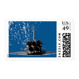 Transbordador espacial la Atlántida Sello