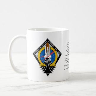 Transbordador espacial la Atlántida Taza De Café