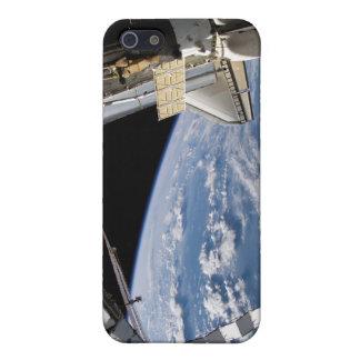 Transbordador espacial la Atlántida y una nave iPhone 5 Cárcasas