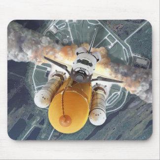 Transbordador espacial Mousepad