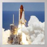 Transbordador espacial poster
