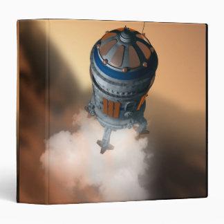 """Transbordador espacial que aterriza 4 carpeta 1 1/2"""""""
