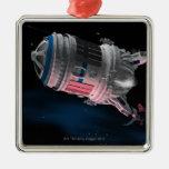 Transbordador espacial que está en órbita Marte Adornos