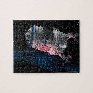 Transbordador espacial que está en órbita Marte Puzzle Con Fotos