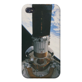 Transbordador espacial que lanza el satélite iPhone 4/4S fundas