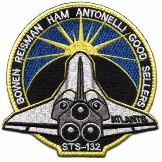 TRANSBORDADOR ESPACIAL STS-132 de la NASA sts132 Fotoescultura Vertical