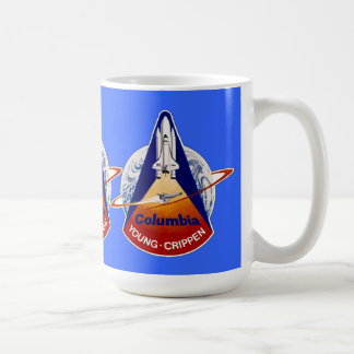 TRANSBORDADOR ESPACIAL STS-1 Columbia de la NASA Taza