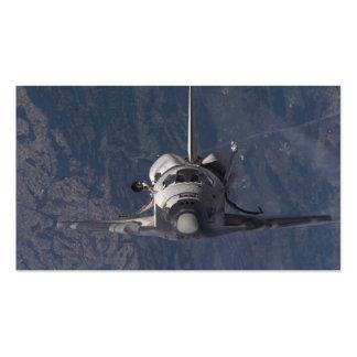 Transbordador espacial tarjeta de visita