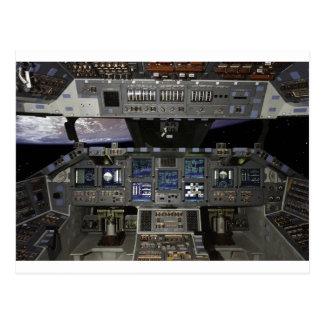 Transbordador espacial tarjetas postales