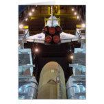 Transbordador espacial tarjetón