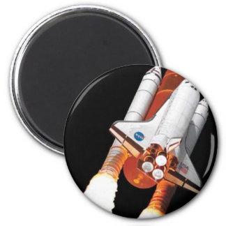 transbordador espacial - vuelo final imán redondo 5 cm