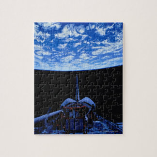 Transbordador espacial y tierra puzzles