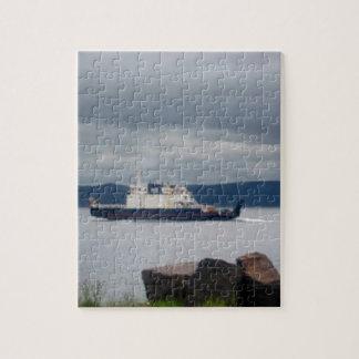 Transbordador Flandes de la isla de Terranova Bell Rompecabezas