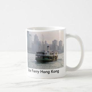 Transbordador Hong Kong de la estrella Taza