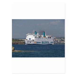 Transbordador Isla De Botafoc Tarjetas Postales