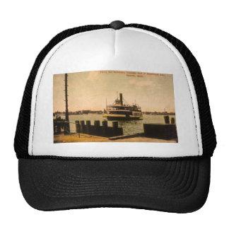 Transbordador para Windsor, Canadá de Detroit, Mic Gorras