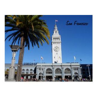 Transbordador que construye San Francisco Tarjetas Postales