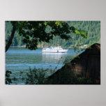 Transbordador y Boathouse Posters