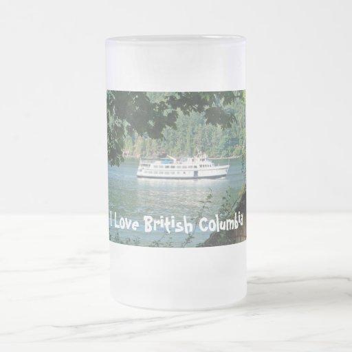 Transbordador y Boathouse Tazas De Café