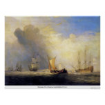 Transbordadores de Rotterdam de José Mallord Turne Posters