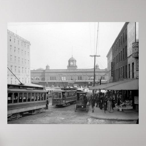 Transbordadores del ferrocarril de Pennsylvania, 1 Póster
