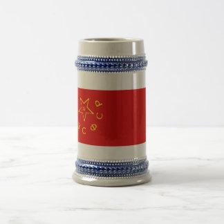 Transcaucasian SFSR Flag Beer Stein