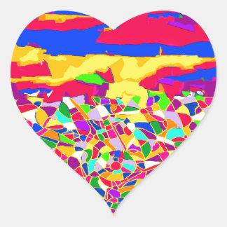 Transcendence Heart Sticker