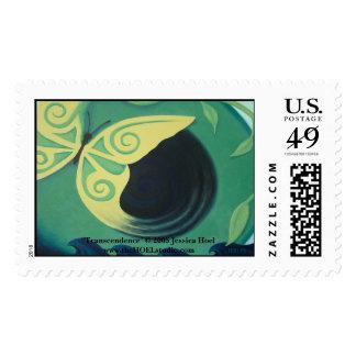 Transcendence Postage Stamp